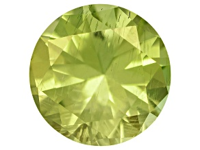 Pallasitic Peridot 3.8mm Round 0.21ct