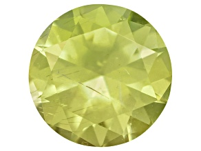 Pallasitic Peridot 3.3mm Round 0.14ct
