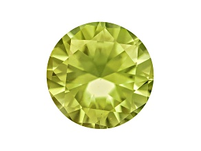 Pallasitic Peridot Minimum .24ct  4mm Round