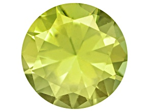 Pallasitic Peridot 4mm Round 0.23ct