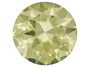 Pallasitic Peridot 3mm Round 0.11ct