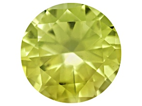 Pallasitic Peridot 3.5mm Round 0.17ct
