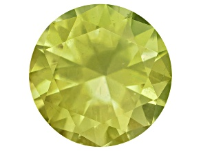 Pallasitic Peridot .19ct  Minimum 3.7mm Round