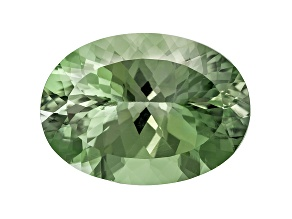 Prasiolite 22x16mm Oval 15.90ct