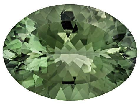 Prasiolite 25x18mm Oval 22.00ct