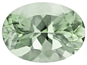Prasiolite 18x13mm Oval 12.82ct