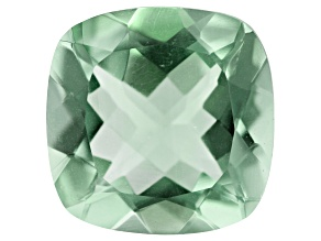 Prasiolite 14mm Square Cushion 9.03ct