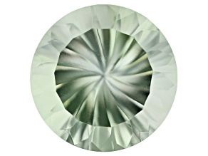 Prasiolite 16mm Round Spinfire Cut 12.86ct