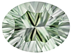 Prasiolite 20x15mm Oval Quantum Cut 15.00ct