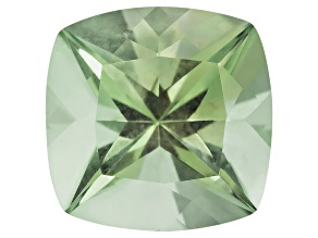 Prasiolite 10mm Square Cushion 3.25ct