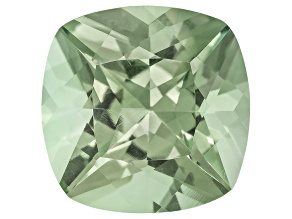 Prasiolite 15mm Square Cushion 11.00ct