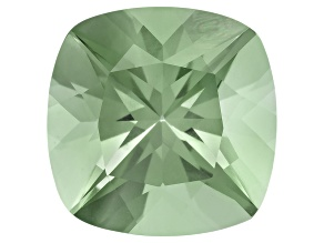 Prasiolite 13mm Square Cushion 7.00ct