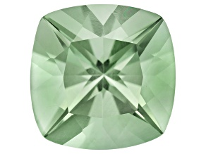 Prasiolite 12mm Square Cushion 6.00ct