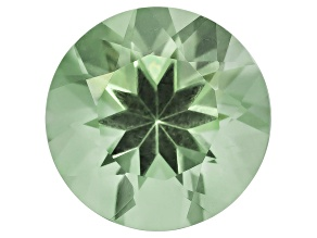 Prasiolite 11mm Round 4.00ct