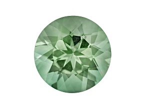 Prasiolite 12mm Round 5.25ct