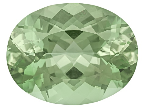 Prasiolite 21.07x16.37mm Oval 20.49ct
