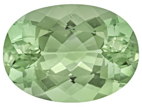 Prasiolite 18x13mm Oval 10.70ct