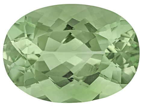 Prasiolite 18x13mm Oval 12.00ct