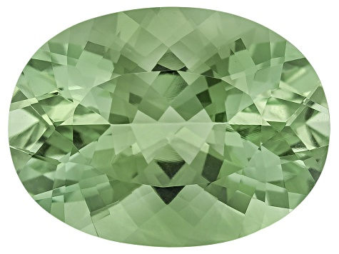 Prasiolite 20x15mm Oval 15.00ct