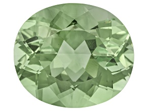 Prasiolite 16x14mm Oval 11.20ct