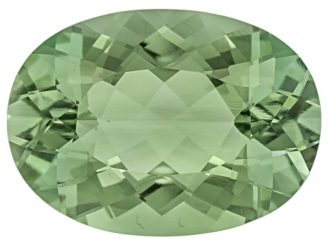 Prasiolite 18x13mm Oval 10.37ct