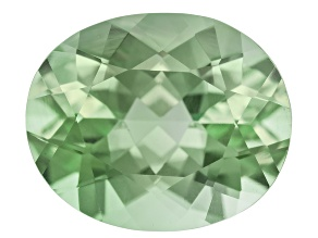 Prasiolite 12x10mm Oval 4.00ct