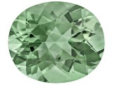 Prasiolite 14x12mm Oval 6.00ct
