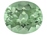 Prasiolite 14x12mm Oval 7.00ct