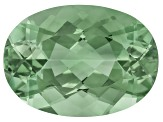 Prasiolite 18x13mm Oval 11.00ct