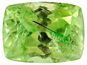 Peridot Ludwigite included Rectangular Cushion 4.00ct