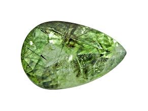 Peridot Ludwigite included Pear Shape 7.00ct