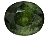Peridot Ludwigite included Oval 6.00ct