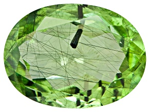 Peridot Ludwigite Included Oval 8.00ct