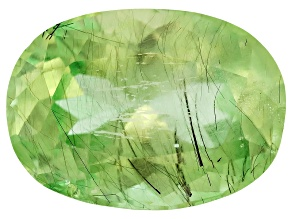 Peridot Ludwigite Included Oval 4.00ct