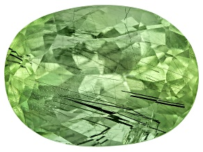 Peridot Ludwigite included Oval 5.00ct