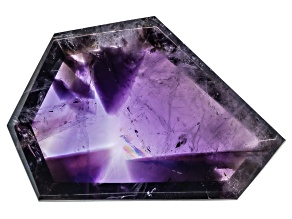 Amethyst Geomtric Free Form Slice 10.00ct