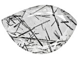 Quartz Tourmalinated 23x15mm Fancy Shape Panoramic Cut 8.50ct
