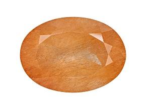 Quartz Sagenitic 22x16mm Oval 19.00ct