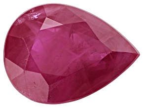 1.64ct Burmese Ruby 8x6mm Pear
