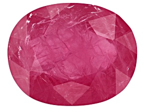 5.50ct Mozambique Ruby 12.6x10mm Oval