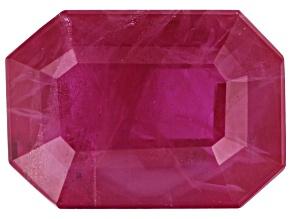 Ruby 7.8x5.6mm Emerald Cut 1.45ct