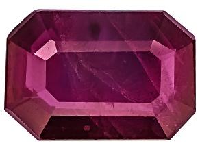 Ruby 7x5mm Emerald Cut .75ct