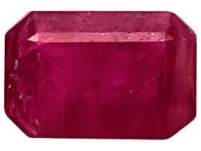 Ruby 6x4mm Emerald Cut .50ct