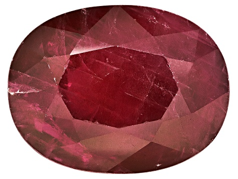 Ruby 8x6mm Oval Mixed Step Cut 1.50ct