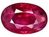 Ruby 6x4mm Oval Mixed Step Cut .30ct