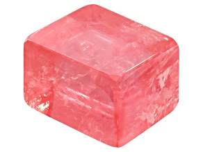 Rhodochrosite 7.9x7.2mm Rhomboidal Crystal Polished 5.86ct