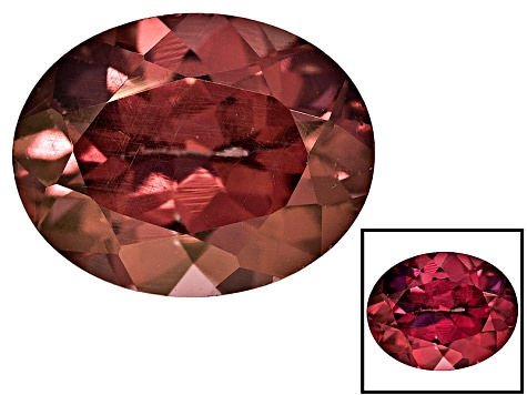 Garnet Color Shift 9x7mm Oval 2.25ct