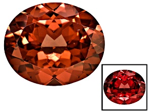 Garnet color shift 12x10mm oval 5.50ct