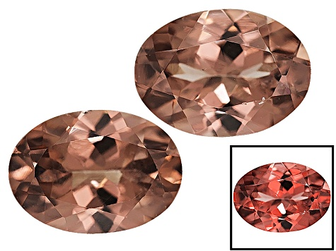 Garnet Color Shift 7x5mm Oval Matched Pair 2.00ctw