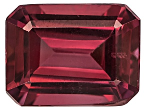 Garnet Raspberry Rhodolite 8x6mm Emerald Cut 1.75ct